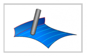 parallel to surface in bobcad cadcam