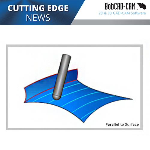 surfaced based cam software toolpaths in bobcad