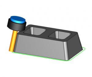 swarf machining in bobcad cam software