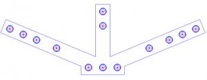 arc center holes in bobcad v31 cnc software