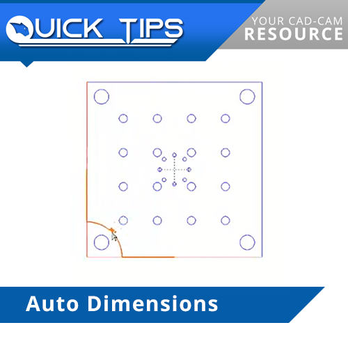 bobcad cnc software auto dimension feature