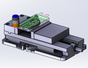 part assembly in bobcam v7 cnc software