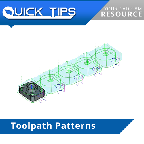 toolpath patterns in bobcad cnc software