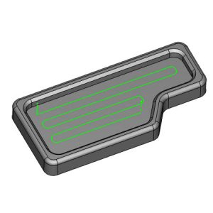 parallel pocketing in bobcad cnc software