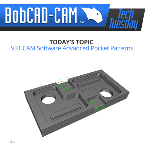 bobcad cam software advanced pockets