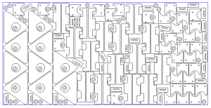 nesting in bobcad cnc software