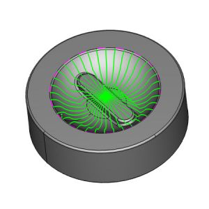 bobcad radial cnc toolpath