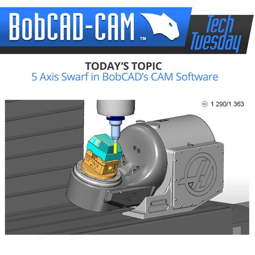5 axis swarf in bobcad cam software