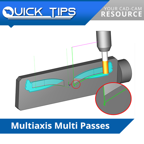 bobcad cnc software multiaxis multi passes
