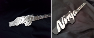 ninja badges made with bobcad cam software