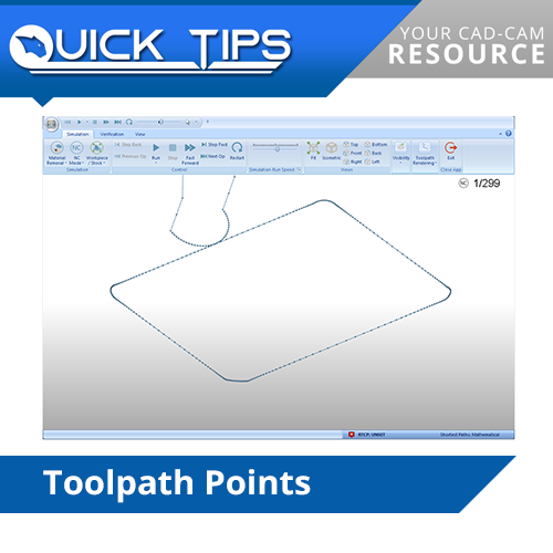 bobcad cnc software toolpath points