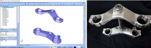 bobcad cnc software making a triple tree