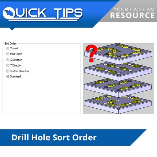 drill sort order in bobcad cnc software