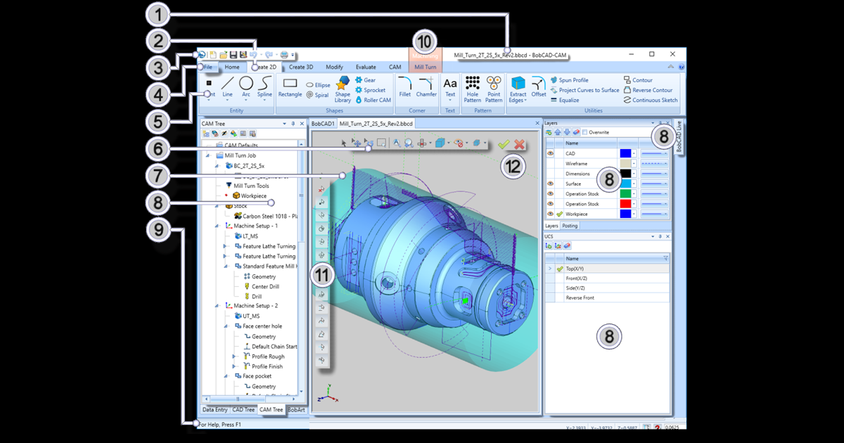 The New User Interface in BobCAD's CNC Software | BobCAD-CAM