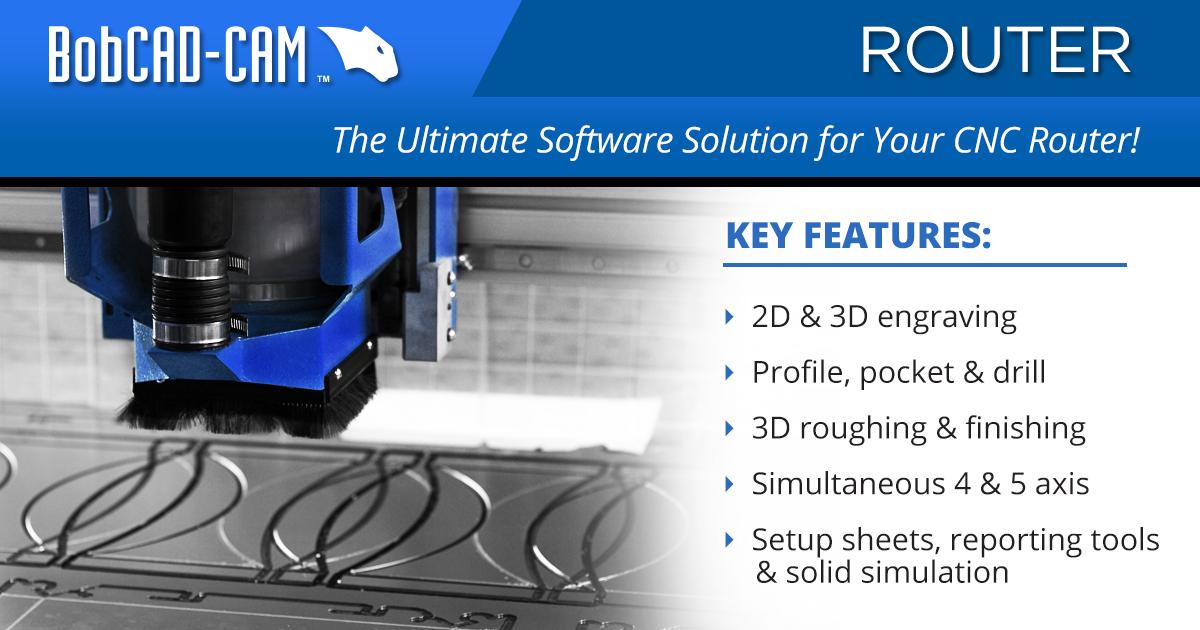CNC Router CAD-CAM Software by BobCAD-CAM | BobCAD-CAM