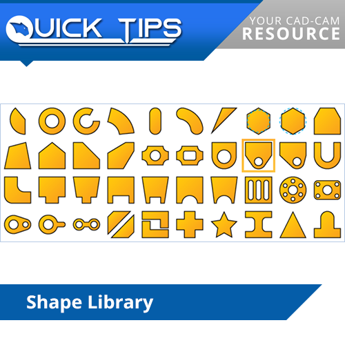 bobcad cnc software shape library