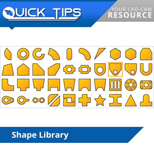 bobcad cnc software shape library