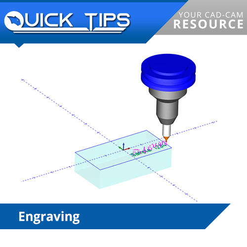 bobcad details how to engrave with our cam software