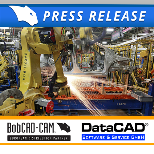 bobcad & datacad press release for cad-cam markets