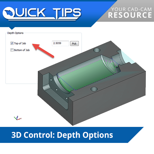 bobcad v31 cnc software quick tip