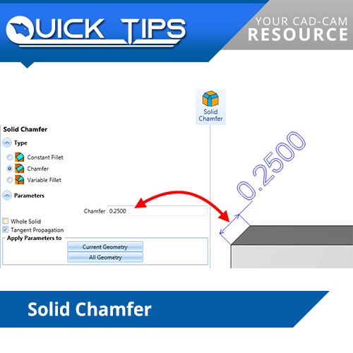 bobcad cnc software quick tip on chamfering
