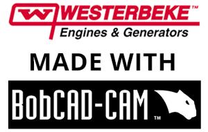 how westerbeke uses bobcad's cnc software