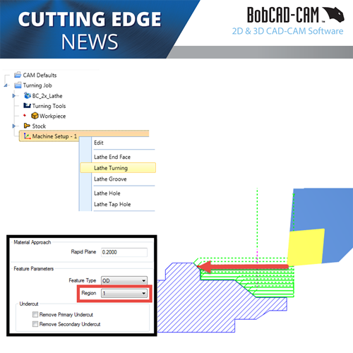 bobcad lathe cnc software feature type programming
