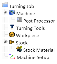 bobcad cam tree manager; turning