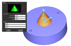 adding shapes in bobcad cnc software