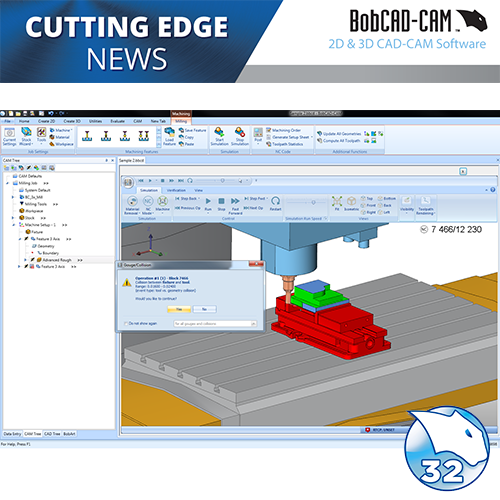 bobcad v32 cnc software user interface