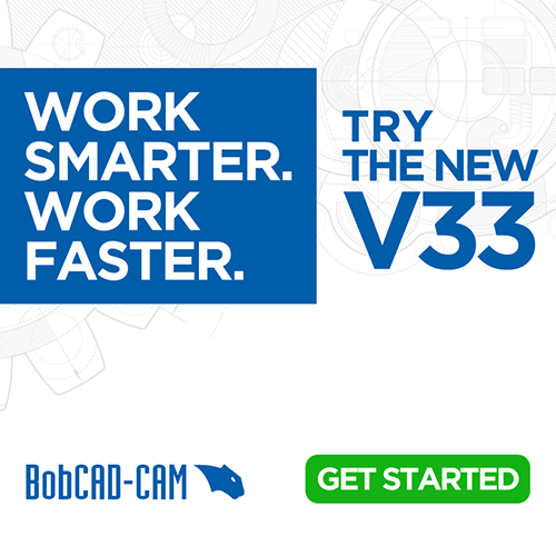 BobCAD-CAM New Release V33