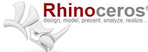 Rhino commercial NURBS-based 3-D modeling software