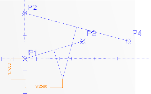 Use the Trim Two option to trim the two perpendicular lines to each other