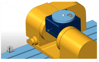 find the 3rd point you need to rotate the tilting axis to a position that will hold the rotary platter