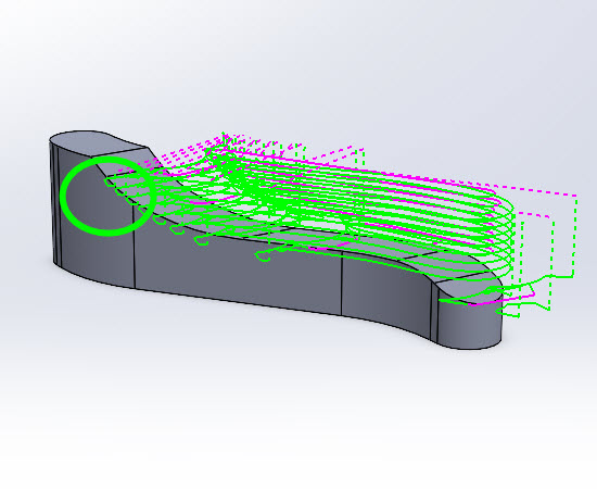 Resulting Toolpath