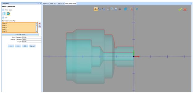Stock Tracking a CAM feature found in BobCAD-CAM v33