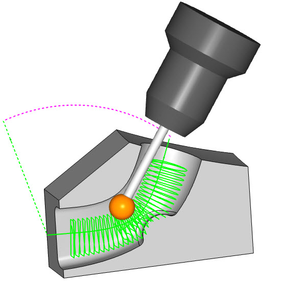 V34 Feature Port Machining